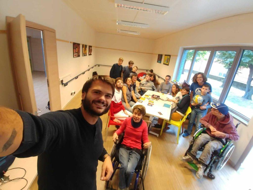 foto di gruppo nella nostra sede